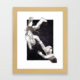 Astronauts Framed Art Print
