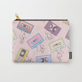 Cassette Pattern Carry-All Pouch