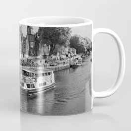King's Staith beside the river Ouse Coffee Mug