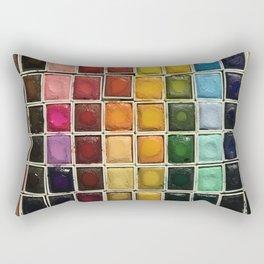 Artist Crack Rectangular Pillow