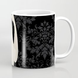 Woman in Black Coffee Mug