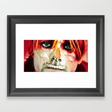 shadow death hero's COBAIN Framed Art Print