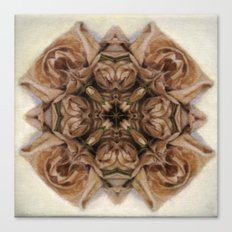 Unfolding Canvas Print