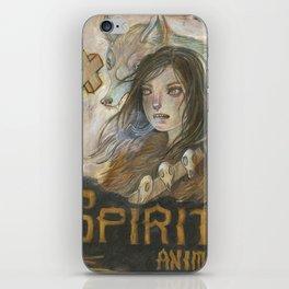 Spirit Animal iPhone Skin