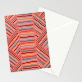 Cheerful Geo Pattern Stationery Cards
