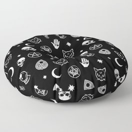 Witch pattern Floor Pillow