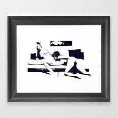 graphic design Framed Art Print