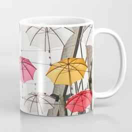 Ireland Dublin   Colorful street photography   Umbrella's Coffee Mug