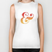 ampersand Biker Tanks featuring Ampersand by TheCore