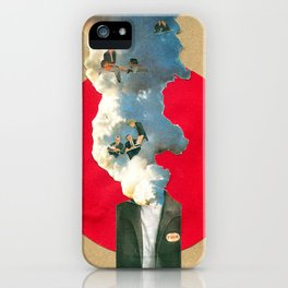 Thinking isn't easy iPhone Case