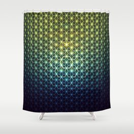 Asanoha 03 Shower Curtain