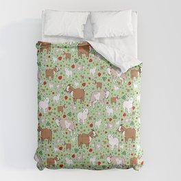 Happy Goats Comforters