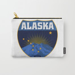 Alaska Badge Carry-All Pouch