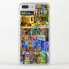 In A Cluttered Hell Clear iPhone Case