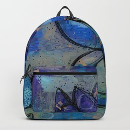 Abstract - Lotus flower - Intuitive Backpack