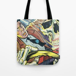 Pulp Comics Tote Bag