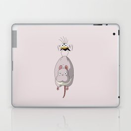 Chihiro Mouse and Fly Laptop & iPad Skin