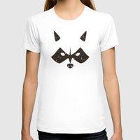 rocket raccoon T-shirts featuring Rocket Raccoon - Log Trap by d00d it's jake