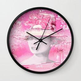Happy Girl Wall Clock