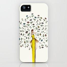 Paris Summer | The Flower Girl iPhone Case