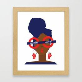 'I represent' Framed Art Print