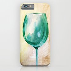 green wine glass iPhone 6s Slim Case