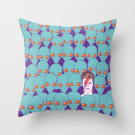 The Aliens Throw Pillow