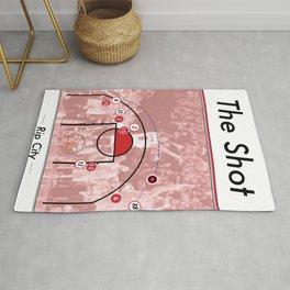The Shot Series - Damian Lillard Rug