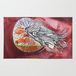 Nautilus Terrarium Rug