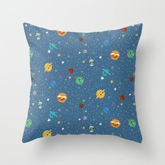 Out Of This World Cuteness Throw Pillow