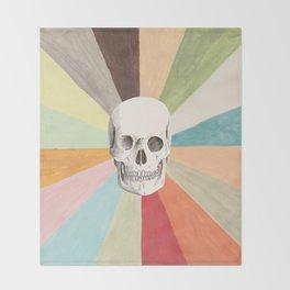 Skull is Cool Throw Blanket