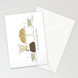 have a fika with me Stationery Cards