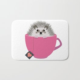 Valentine Heart Hedgehog Bath Mat