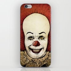 It - Pennywise (Color Version) iPhone & iPod Skin