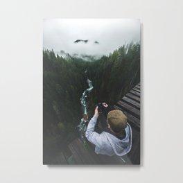 Vance Creek Bridge - Olympic National Park, WA Metal Print