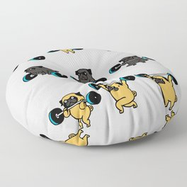 OLYMPIC LIFTING PUGS Floor Pillow