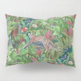 Into the Wild Emerald Forest Pillow Sham