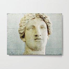Male Roman Sculpture Metal Print