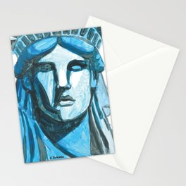 Lady Liberty - I'm With Her Stationery Cards