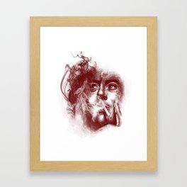 smokescreens and mirrors Framed Art Print