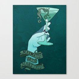 Mermaid Martinis Canvas Print