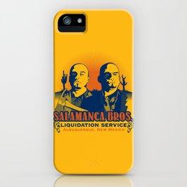 Salamanca Brothers iPhone Case
