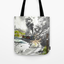 Rounding Inspiration Point--Clear Creek Canyon Tote Bag