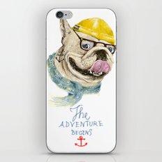 Mr.Bulldog III iPhone & iPod Skin
