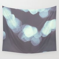 bokeh Wall Tapestries featuring Bokeh by Chelle Wootten