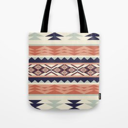 Native American Geometric Pattern Tote Bag