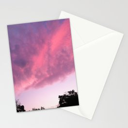 Color Bomb Sunset Stationery Cards