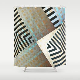 V2R41 Shower Curtain