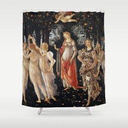 Sandro Botticelli - Spring (La Primavera) Shower Curtain