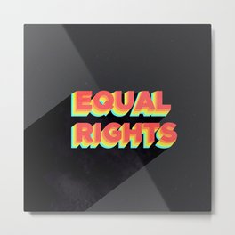 equal rights galaxy Metal Print